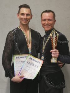 Damian Spyrka (l.) mit seinem Partner Marc Hartung-Knöfler